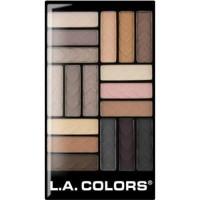 LA colors eyeshadow brown - 3 ea