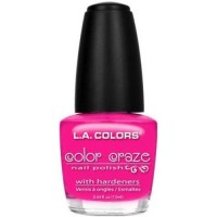 LA colors color craze nail polish, frill - 3 ea