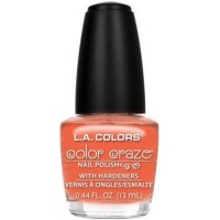 LA colors color craze nail polish, dimple - 3 ea