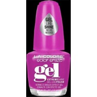 LA colors extreme shine gel polish, daring - 3 ea
