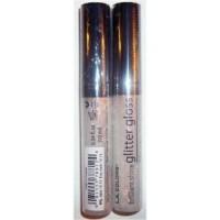 L.A colors brilliant shine glitter gloss crystal - 3 ea