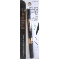 Black radiance waterproof liquid eyeliner, black velvet - 3 ea