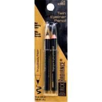 Black radiance twinpack eyeliner pencil, truly black - 3 ea