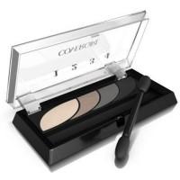 Covergirl eye shadow quads, stunning smokey - 2 ea
