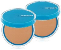 Covergirl clean oil control compact pressed powder, warm beige 545 - 2 ea