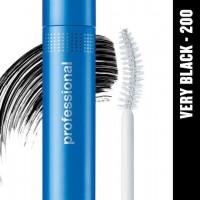 Covergirl professional mascara curved brush, very black - 3 ea