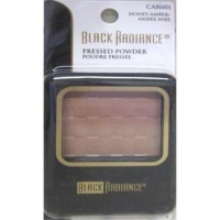 Black radiance pressed powder, honey amber - 3 ea