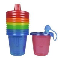 The first years take & toss spill-proof sippy cups - 2 ea