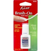 Kiss lightning speed brush on glue - 2 ea