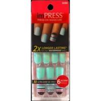 Kiss impress accent manicure nails - 3 ea