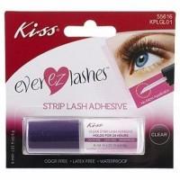 Kiss eyelash adhesive clear - 2 ea