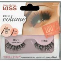 Kiss true volume natural eye lashes ritzy - 3 ea