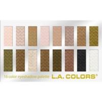 LA colors 16 color eyeshadow palette, sweet - 3 ea