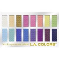 LA colors 16 color eyeshadow palette, haute - 3 ea