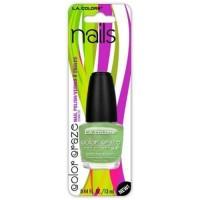 LA colors color craze current nail polish, current - 3 ea