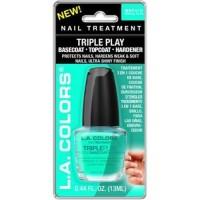 LA colors triple play basecoat topcoat hardener - 2 ea