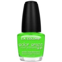 LA colors color craze nail polish, mint - 3 ea