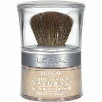 Loreal paris true match naturale mineral foundation natural ivory - 2 ea