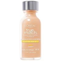 Loreal true match super-blendable liquid makeup, warm natural beige - 2 ea