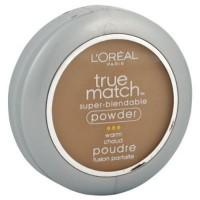 Loreal true match super blendable pressed powder, warm cream cafe - 2 ea