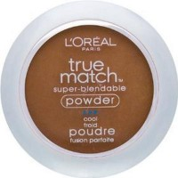 Loreal true match super blendable pressed powder, cool nut brown - 2 ea