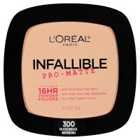 Loreal paris infallible pro matte pressed powder, nude beige - 2 ea