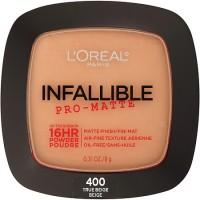 Loreal paris infallible pro matte pressed powder, true beige - 2 ea
