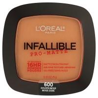 Loreal paris infallible pro matte pressed powder, golden beige - 2 ea