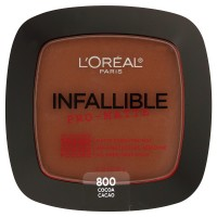 Loreal paris infallible pro matte pressed powder, cocoa - 2 ea