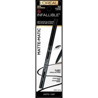 Loreal paris infallible matte matic eyeliner black - 2 ea,  2pack