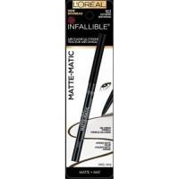 Loreal paris infallible matte matic eyeliner, brown - 2 ea,  2pack