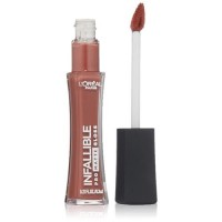 Loreal paris cosmetics infallible pro matte gloss, bare attraction - 2 ea