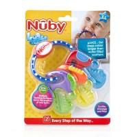 Nuby icy bite teether keys - 4 ea