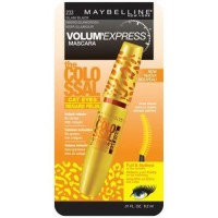 Maybelline volume express colossal cat eyes washable mascara, glam black - 6 ea