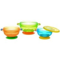 Munchkin stay put suction bowl - 3 ea