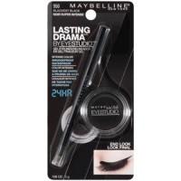 Maybelline eyestudio lasting drama gel liner blackest black -  2 ea, 2 pack