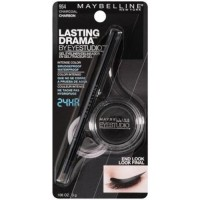 Maybelline lasting drama by eye studio gel eyeliner, charcoal -  2 ea, 2 pack