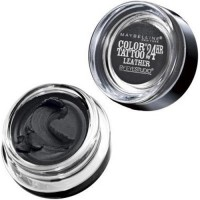 Maybelline color tattoo eye shadow, dramatic black - 2 ea