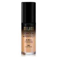 Milani perfect foundation plus concealer, sand beige - 3 ea
