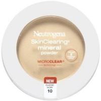 Neutrogena skinclearing mineral powder, classic ivory - 2 ea