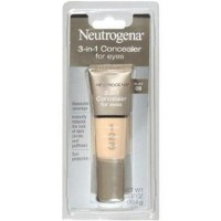 Neutrogena 3 in 1 concealer for eyes, buff - 2 ea