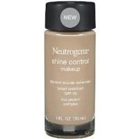 Neutrogena shine control liquid makeup foundation, nude - 2 ea