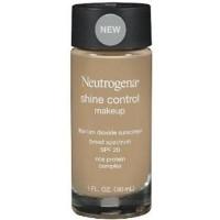 Neutrogena Shine Control Makeup Sunscreen, warm beige - 2 ea