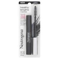 Neutrogena healthy lengths eye mascara, black - 2 ea