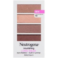 Neutrogena nourishing long wear eye shadow plus primer, cocoa mauve - 3 ea