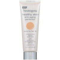 Neutrogena healthy skin anti aging perfector, ivory to fair - 2 ea