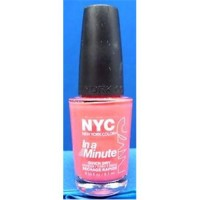 New york color in a minute nail color polish penn station pink - 2 ea