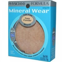Physicians formula mineral wear pressed powder, buff beige - 2 ea