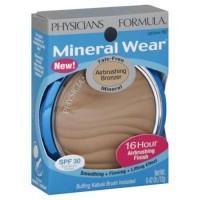 Physicians formula mineral wear airbrush bronzer, light bronze - 2 ea