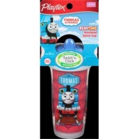 Playtex sipsters thomas the train spout sippy cups - 3 ea
